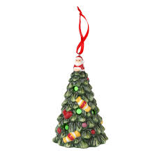 spode tree multicolor led tree ornament spode usa