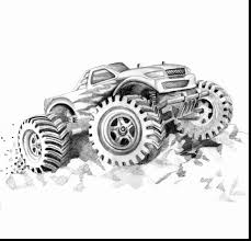 amazing monster truck coloring pages with monster jam coloring