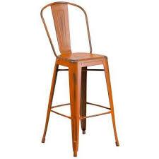 modern orange bar stools modern orange bar stools kitchen dining room furniture