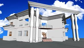 Duplex Building by Duplex House 3d Cgtrader