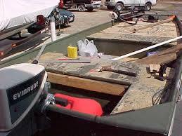 Jon Boat Bench Seat Cushions Jon Boat Mods