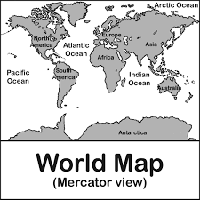 continent clipart coloring page pencil and in color continent