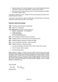 awesome safety consultant cover letter images podhelp info