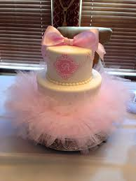tutu baby shower cakes tutu cake baby girl shower cake shop tutu and