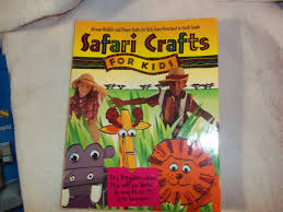 safari crafts for kids includes projects for children from