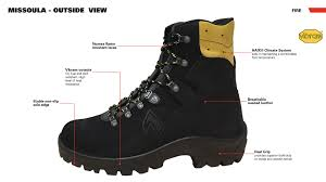 Most Comfortable Police Duty Boots Haix Missoula Hiking Boot For Wildland Fighting