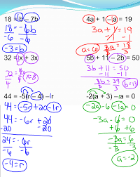 multi step equation examples jennarocca
