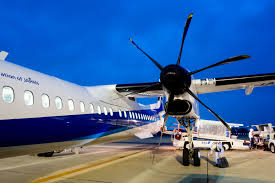ana wings dash 8 q400 economy sapporo to sendai flight review