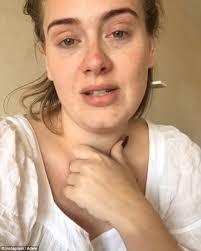 Make Up Classes In Detroit Adele Shows Off Her Natural Beauty In Stunning Make Up Free