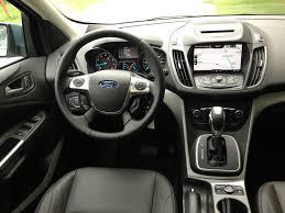 Ford Escape Interior - comparo 2013 ford escape versus hyundai santa fe sport john