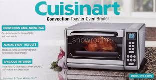 Cuisinart Compact Toaster Oven Broiler Cuisinart Stainless Steel Exact Heat 1500 Watt Convection Toaster