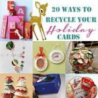 crafts to recycle christmas cards wordblab co