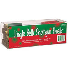 shotgun shell christmas lights amazon com shotgun shell christmas lights 50 light strand home