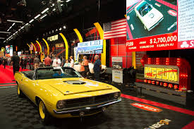 1970 plymouth hemi cuda convertible fetches 2 7 million w video