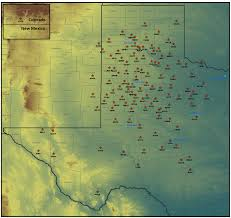 Lake Alan Henry Map Current Weather Observations West Texas Mesonet