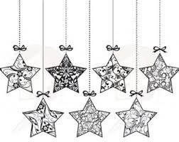 christmas star clipart black and white u2013 101 clip art