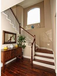 Hardwood Flooring On Stairs How To Paint Risers And Stain Stairs Traditional Staircase
