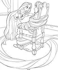 walt disney coloring pages princess rapunzel amp flynn rider 2523