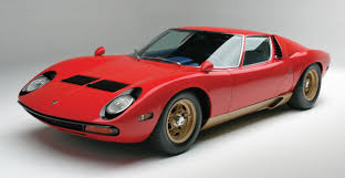 lamborghini miura first lamborghini miura sv delivered in america sells for