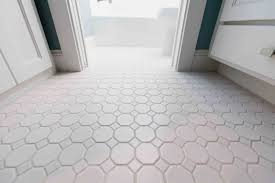 Tile Flooring Ideas For Bathroom Octagon Floor Tile Large Tile Flooring Ideas