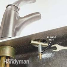 removing a kitchen faucet how to replace a kitchen faucet family handyman
