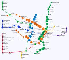 5 Train Map Catbus Map