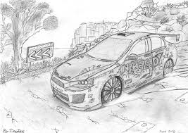 Mitsubishi Lancer Evolution X By Dreepss On Deviantart
