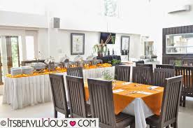the dining room at gourmet farms silang cavite tagaytay