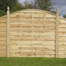 choose the garden fence panels depending on what you want to