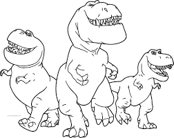 the good dinosaur disney nash ramsey butch cartoon coloring pages