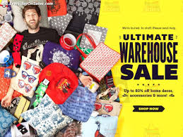 Home Decor Online Sales 24 Jan 2014 Onwards Threadless Ultimate Online Warehouse Sale For