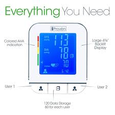 amazon com blood pressure monitor premium technology double