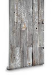 rustic wood panels wallpaper design by milton king burke decor