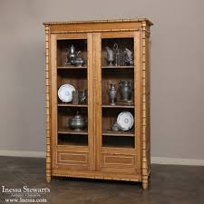 19th century french pine faux bamboo bookcase inessa stewart u0027s