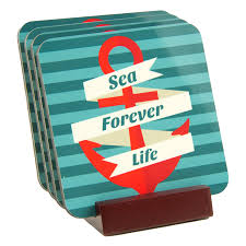 sea life forever coaster set makes a great housewarming gift