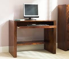 Sheesham Computer Desk Solid Mango Wood Computer Desk Casa Handcrafted Indian