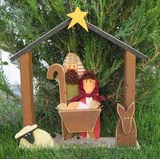 best 25 outdoor nativity ideas on outdoor