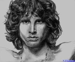 how to draw jim morrison step by step portraits people free