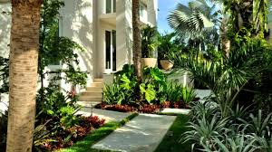 beautiful gardens with tropical plants outdoors pinterest