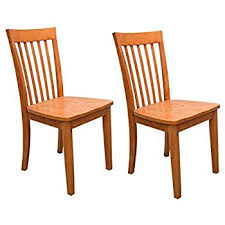 Heavy Duty Armchairs Amazon Com Set Of 2 Heavy Duty Solid Wood Dining Room Kitchen
