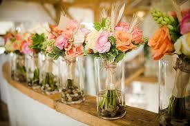 inexpensive wedding cheap wedding flower ideas wedding corners