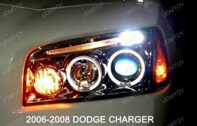 2008 dodge charger lights 05 10 dodge charger chrome dual halo projector led headlights