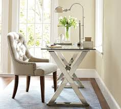 White X Desk by Ava Metal Desk Pottery Barn Au