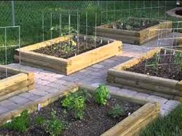 backyard vegetable garden design ideas youtube