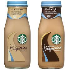 mocha frappuccino light calories starbucks frappuccino mocha light and vanilla light flavors variety