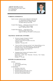 Resume Samples College Graduate by Resume Sample For Fresh Graduate Nurse Resume For Your Job