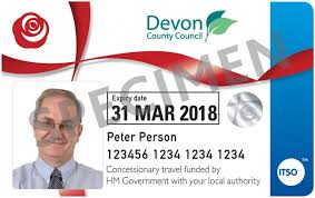 National bus pass travel devon