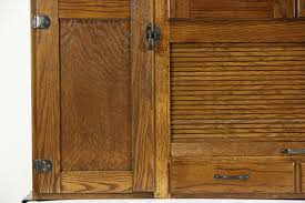 Sam Has A Great Experience With Powder Coating Her Vintage by 100 Hoosier Style Kitchen Cabinet Sold Hoosier Oak U0026