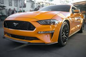 Black And Orange Mustang 2018 Ford Mustang Offers Pony Package Motor Trend