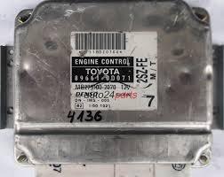 motor de toyota ecu centralita de motor toyota yaris 1 3 2sz fe 896610d071 89661